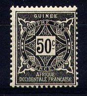 GUINÉE - N° T21* - ORNEMENTS - Guinée Française (1892-1944)