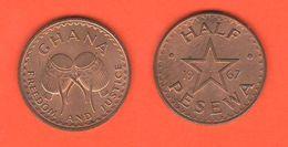 Ghana Half Pesewa 1967 - Ghana