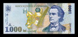 Rumania Romania 1000 Lei 1998 Pick 106(1) Watermark 1 SC UNC - Romania