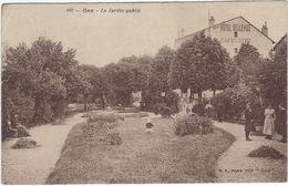 01 Gex Le Jardin Public - Gex