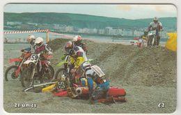 ISLE OF MAN - Dramatic Scene (Racing Motocycles), Tirage 10.000, Used - Man (Isle Of)