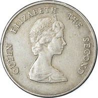 Monnaie, Etats Des Caraibes Orientales, Elizabeth II, 25 Cents, 2000, TTB - Caraibi Orientali (Stati Dei)