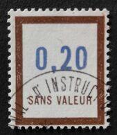 France Fictif N° F193 Oblitéré, TTB. Cote 2020 : 1 Euro. Voir Recto/verso - Fictifs