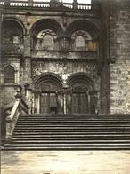 ESPAÑA - SANTIAGO DE COMPOSTELA, Catedral, Detalles # 1/5 - Fotografía 11x8cm - Archivo Théodore LHUILLIER - 1907 - Santiago De Compostela