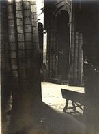 ESPAÑA - SANTIAGO DE COMPOSTELA, Catedral, Detalles # 5/5 - Fotografía 11x8cm - Archivo Théodore LHUILLIER - 1907 - Santiago De Compostela