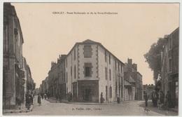 49 - CHOLET - Rue Nationale Et De La Sous-Préfecture - Animée 1919 - Cholet