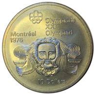 Ref. 561-609 - COI CANADA . 1975. MONTREAL OLYMPIAD 1976 - 10 $. OLIMPIADA MONTREAL 1976 - 10 $ - Canada