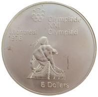 Ref. 1512-1718 - COI CANADA . 1974. 5 DOLLARS MONTREAL OLYMPICS 1976. 5 DOLLARS OLIMPIADA MONTREAL 1976 - Canada
