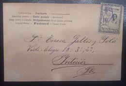 BARCELONA INTERIOR.  TARJETA POSTAL - 1889-1931 Royaume: Alphonse XIII