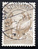 Greenland 1969 CZ.Slania     Eagle Minr.73 SDR.STRØNFJORD  ( Lot D 2538) - Groenland