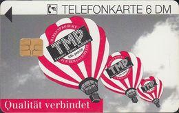 GERMANY K1649/93 TMP - Fenster - Türen - Bad Langensalza - Ballon - Deutschland