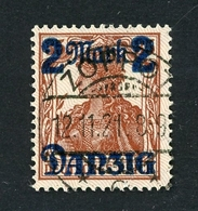 Danzig MiNr. 43 II Gestempelt Befund Gruber (MA1115 - Dantzig