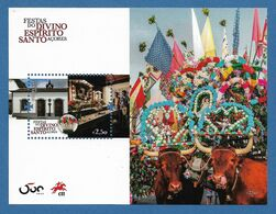 Portugal 2020 , Festas Do Divino Espirito Santo - Block - Postfrisch / MNH / (**) - Unused Stamps