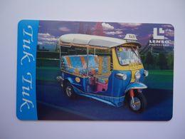 THAILAND CARDS LENSO 093/500  BIKE SAMLOT TAXI - Tailandia