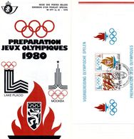 Moscou 1980 - Documents Of Postal Services