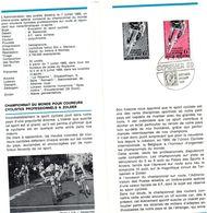 Championnat Du Monde De Cyclisme 1969 - Documents Of Postal Services