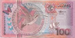 Suriname : 100 Gulden 2000 Très Bon état - Suriname