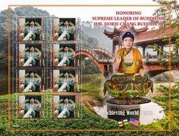 Centrafrica 2020, Buddhism D. Chang Buddha III, Sheetets - Buddhismus