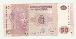 Banque Centrale Du Congo 50 Francs 2013 UNC - Democratische Republiek Congo & Zaire