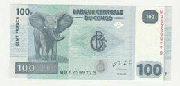 Banque Centrale Du Congo 100 Francs 2013 UNC Olifant-elephant - Democratische Republiek Congo & Zaire