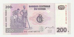Banque Centrale Du Congo 200 Francs 2007 UNC - Democratische Republiek Congo & Zaire