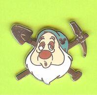 Pin's Disney Nain Dormeur (Blanche-Neige) - 10QQ24 - Disney