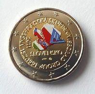 SLOVAQUIE 2011 - VISEGRAD -  2 EUROS COMMEMORATIVE  -  VERSION COULEUR - Malta