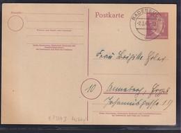 DR., Ganzsache,, Mi.-Nr. P 314 I Gestempelt.von 2.3.45 - Unclassified