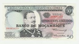 Mozambique-mocambique 50 Escudos 1970 UNC - Mozambique