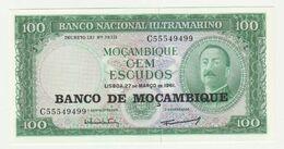 Mozambique-mocambique 100 Escudos 1961 UNC - Mozambique