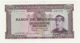Mozambique-mocambique 500 Escudos 1967 UNC - Mozambique