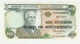 Mozambique-mocambique 1000 Escudos 1972 UNC - Mozambique