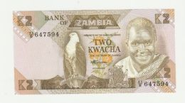 Bank Of Zambia 2 Kwacha 1986-1988 UNC - Zambia