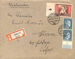Enveloppe Deutsches Reich Registered Einschreiben Berlin 1942  (fixed Price) - Unclassified