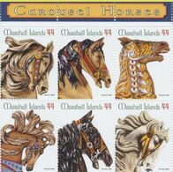 Marshall Islands 2010, Carousel Horses, MNH Stamps Set - Marshalleilanden