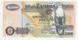 Bank Of Zambia 100 Kwacha 2006 UNC - Zambia