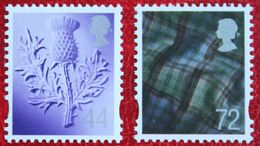 Distel Tartan Scotland (Mi 90-91) 2006 POSTFRIS MNH ** ENGLAND GRANDE-BRETAGNE GB GREAT BRITAIN - Escocia