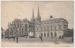 49 - CHOLET - L'Eglise Le Théatre  1904 - Cholet