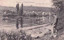 PECHE A LA LIGNE(VILLENNES) - Villennes-sur-Seine