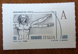 2015 ITALIA Serie Leonardesca - Uomo Vitruviano - Zona A -   Nuovo - 6. 1946-.. Repubblica