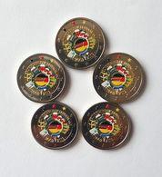 ALLEMAGNE 2012 - LES 5 ATELIERS - 10 ANS DE L'EURO -  2 EUROS COMMEMORATIVE  -  VERSION COULEUR - [11] Collections
