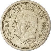 Monnaie, Monaco, Franc, Undated (1943), Poissy, TTB, Aluminium, Gadoury:MC131 - Monaco