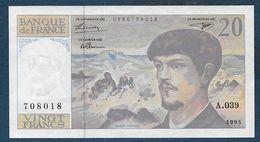 Billet 20 Fr   Debussy Neuf  - Alphabet A. 039 - 1962-1997 ''Francs''