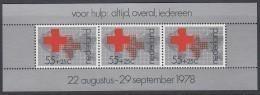 NIEDERLANDE  Block 18, Postfrisch **, Rotes Kreuz, 1978 - Blocks & Sheetlets