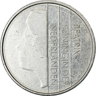 Monnaie, Pays-Bas, Beatrix, Gulden, 1985, TB+, Nickel, KM:205 - [ 3] 1815-… : Royaume Des Pays-Bas