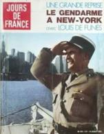 JOURS DE FRANCE N°973 Du 14 Août 1973 – Louis De Funès à New York - General Issues