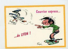 """CPM - 7221 """"GASTON FUTÉ"""" DE FRANQUIN - COURRIER EXPRESS DE LYON - - Bandes Dessinées"""
