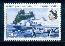 British Antarctic Territory - BAT - 1969 - Michel Nr. 20 * - Britisches Antarktis-Territorium  (BAT)