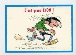 """CPM - 7216 """"GASTON FUTÉ"""" DE FRANQUIN - C'EST GRAND LYON ! - - Stripverhalen"""