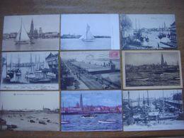 Lot De 29 Cartes De ANTWERPEN - Anvers --- De Reede - La Rade ( Bateau Escaut Bassin Yacht Voilier Quai Port Entrepôt .. - Antwerpen